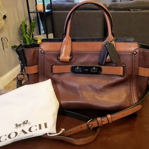 Coach Swagger Colorblock Ginger